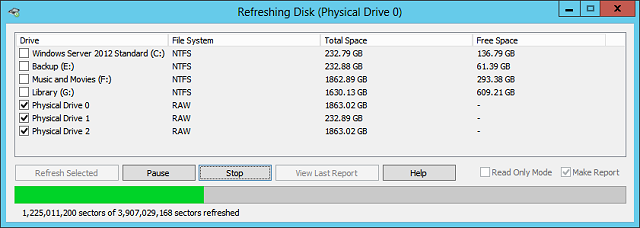 Refresh your hard drive